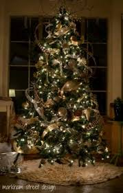 tree decorations ideas with ribbons rustic luxe tree 12 of with balsam