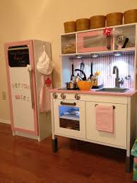Pantry Cabinet Ikea Hack by The 5 Best Diy Play Kitchens Ikea Play Kitchen Black Silver And