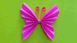 Hand Work Made Paper Flowers Curled Roses Youtuberhyoutubecom Easy Butterfly Frame Decoration Origami Rhcom
