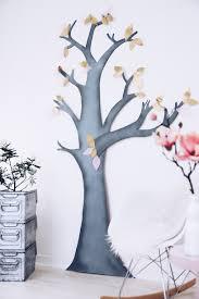 wanddeko fürs wohnzimmer ein diy deko baum aus pappe