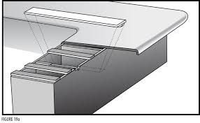 Installing Sink Strainer In Corian by Installing Sinks Cooktops And Overhang Support Solidsurface Com