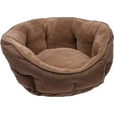 Cat Beds Petco by Amazon Com Petco Cuddler Dog Bed In Brown Pet Beds Pet Supplies
