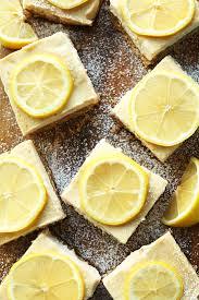 vegan lemon bars gf minimalist baker recipes