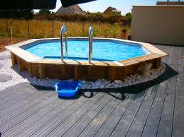 piscine semi enterré bois photo 19 69 3517494