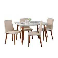 Manhattan Comfort Utopia 47.24 In. 5-Piece White Gloss And ... Madison County Ding Table Set With Extension Tamilo Ding Room Chair Ashley Fniture Homestore Pin On Ding Tables And Chairs Most Regard Set Cushions Chairs Comfortable Wat Indoor Covers Black Modern Mhattan Comfort York 5piece Solid Wood With 1 Table 4 540 Area Tile Wooden Patings Decorative Giantex 5 Piece Upholstered Mid Century Apartment Linen Fabric Cushioned Seats Large Amazing Brie Hooker Hill Country