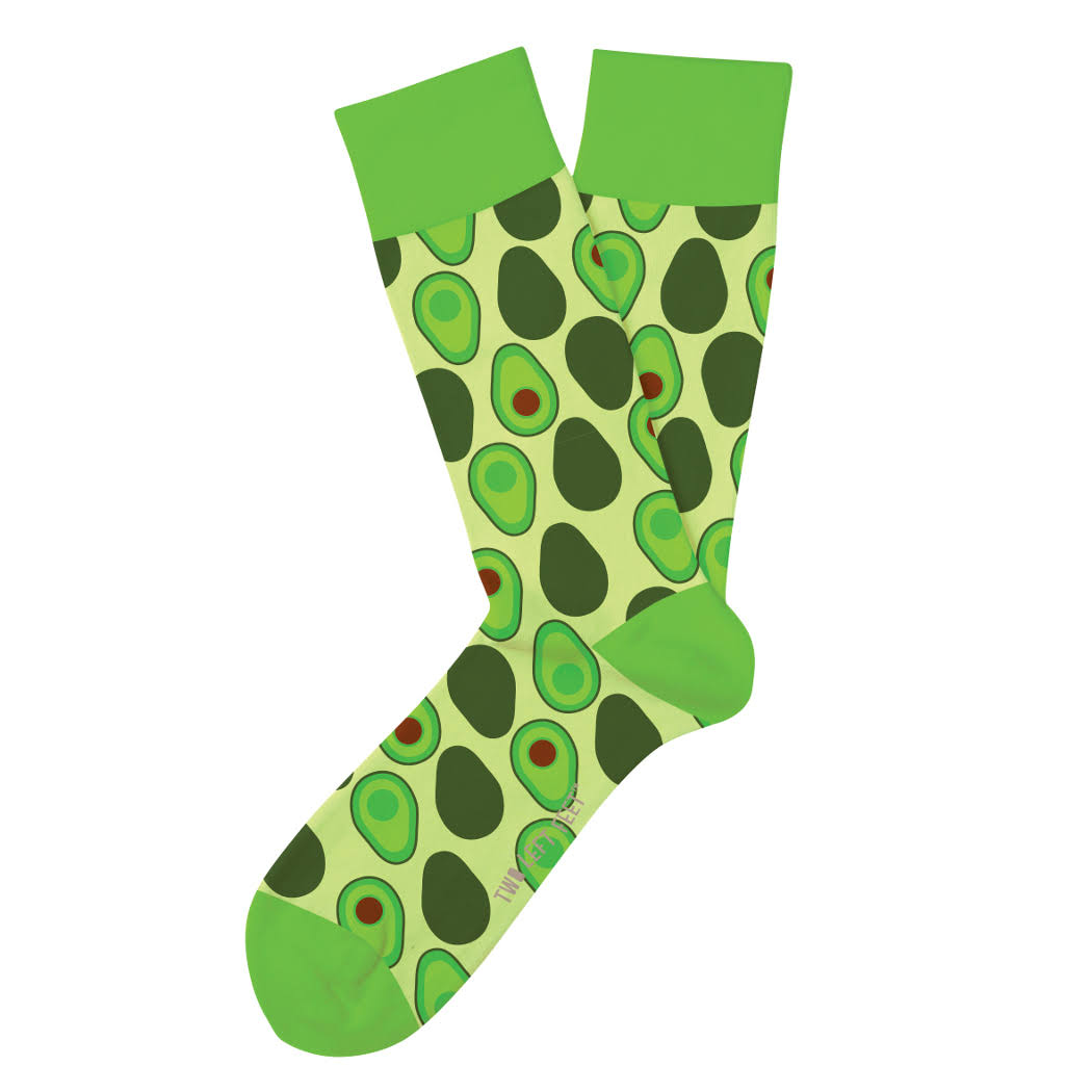 Two Left Feet Holy Guacamole Socks | Pair