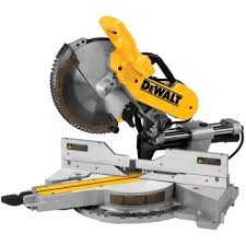 Dewalt Tile Saws Home Depot by Dewalt 15 Amp 12 In Double Bevel Sliding Miter Saw Dws782 The