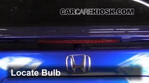 third brake light bulb change honda civic 2006 2011 2007 honda