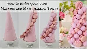Ferrero Rocher Christmas Tree Diy by Macaron And Marshmallow Tower Youtube