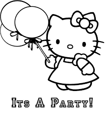 35 Hello Kitty Coloring Pages