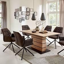niehoff schalensessel tapas 6432 bezug aberdeen anthrazit stativgestell eisen schwarz polsterstuhl für wohnzimmer und esszimmer