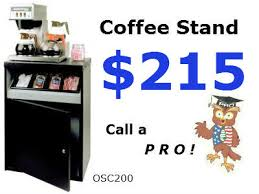 OCS 200 Coffee Station Is Our Most Popular Size215