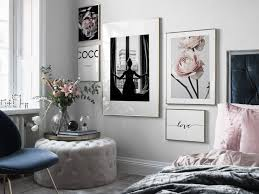 design inspiration und poster bilderwand im schlafzimmer