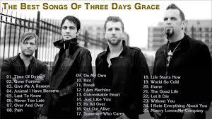 Three Days Grace Greatest Hits Full Album