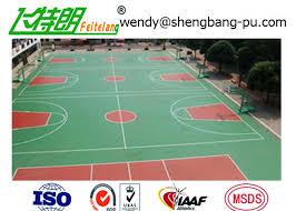 terrain de basket exterieur la surface de cour de sport d acide acrylique terrain de basket