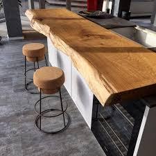küchentresen bartresen küche holz holztresen holzbrett theke