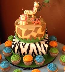 Jungle Themed Cakes Baby Shower Baby Shower Gallery
