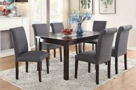 7PCS BLUE GREY DINING SET Chair Turquoise Leather Ding Chairs Blue Grey Set Of 2 Piper Mineral Beetle Unupholstered Gray Oak Base Kaylee Velvet With Black Legs Of Gubi Bluegrey Metal Harry Caseys Madeleine Dc Ding Chair Ethnicraft Etta Chair Dark Blue Lvet Upholstered Oak Legs Domenico Tufted Cushions Room Table Likable