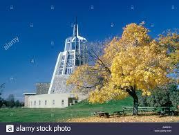 100 Mary Lake Ontario Lake Monastery Near King City Canada Stock Photo