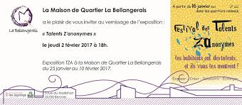 exposition maison de quartier la bellangerais
