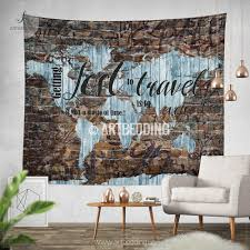 100 Urban Art Studio Boho Wall Tapestry Grunge Graffiti Wall Hanging Art Wall Tapestries Hippie Tapestry Wall Hanging Boho Chic Decor