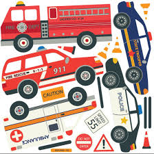 Amazon.com: Transportation Town, Cars, Trucks, EMS Vehicles ... Cars Wall Decals Best Vinyl Decal Monster Truck Garage Decor Cstruction For Boys Fire Truck Wall Decal Department Art Custom Sticker Dump Xxl Nursery Kids Rooms Boy Room Fire Xl Trucks Stickers Elitflat Plane Car Etsy Murals Theme Ideas Racing Art