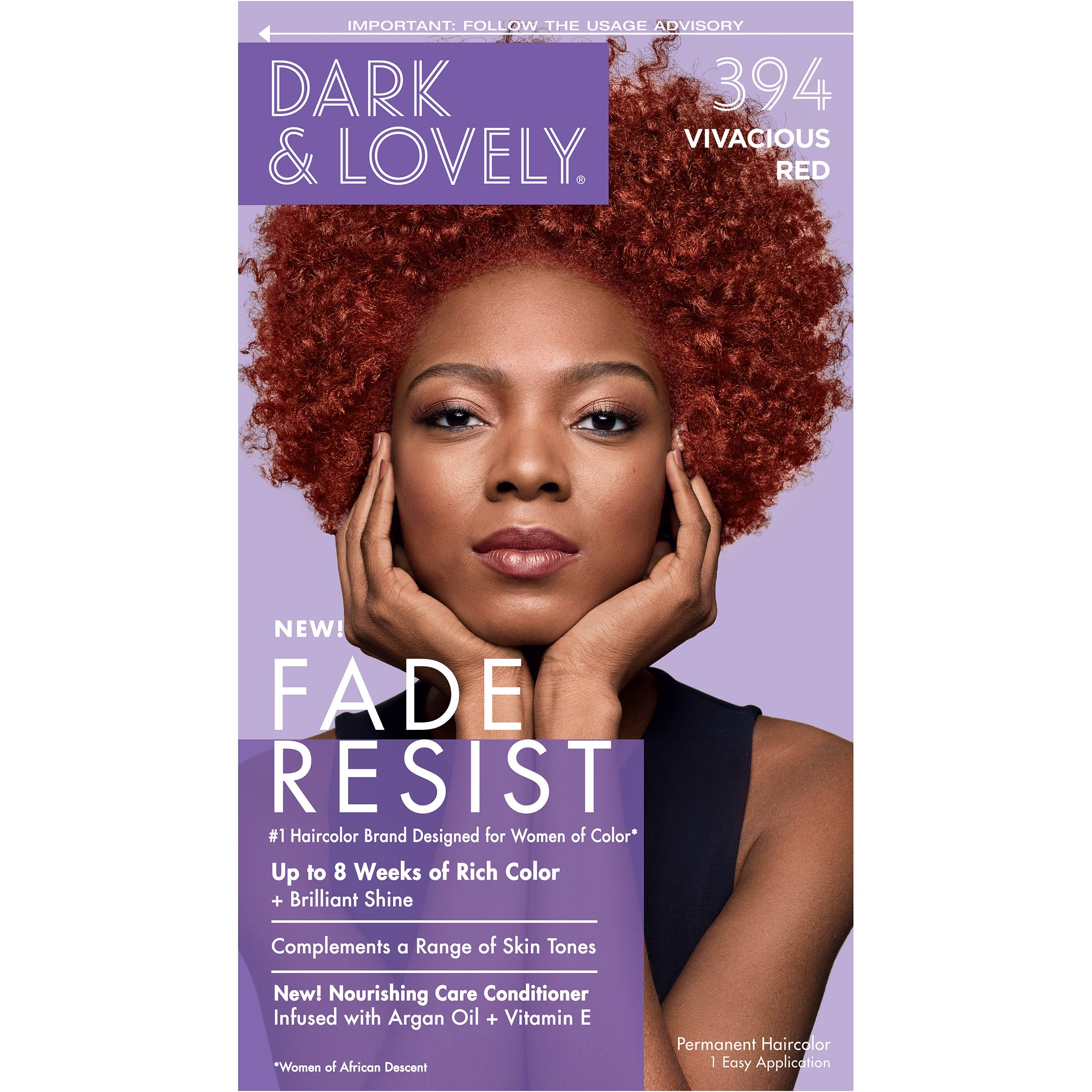 SoftSheen-Carson Dark and Lovely Hair Color - $394 Vivacious Red