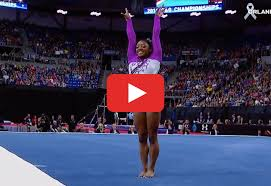 Simone Biles Floor Routine by Simone Biles Gymnastics Video Will Get You Pumped For The Olympics