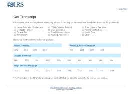 IRS Tax Transcripts Financial Aid fice