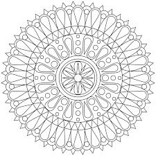 dessin a imprimer coloriage à imprimer mandala en 40 modèles à croquer