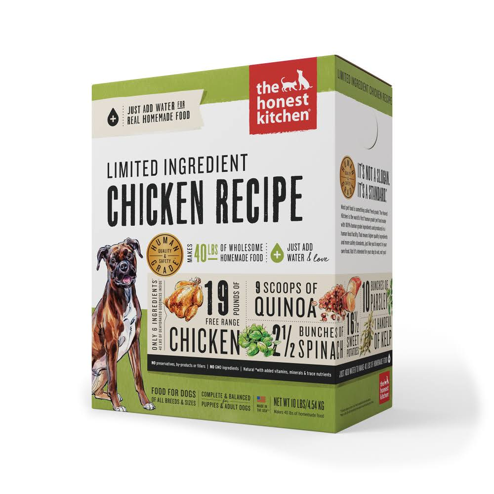 Honest Kitchen Grain Dog Food - Chicken, 10lb