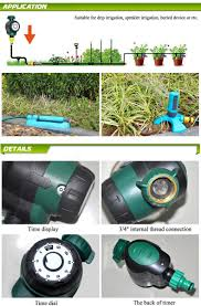Hose Faucet Timer Wifi by Daye Garden 2 Hours Automatic Watering Timer Plant Mechanical
