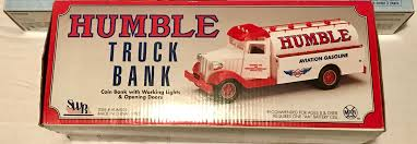 100 Bank Truck Humble Oil Aviation By Marx Etsy