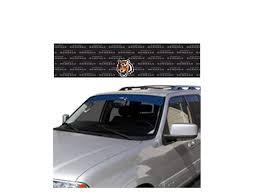 100 Truck Windshield Visor Amazoncom Cincinnati Bengals Auto Window Film