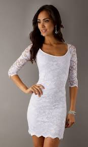 dress white lace naf dresses