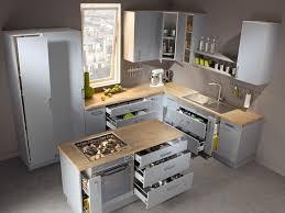 cuisine ilot ilot central cuisine design cuisine avec lot central portes