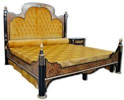casa padrino luxus barock boulle doppelbett schwarz rot gold silber 211 x 215 x h 180 cm prunkvolles massivholz bett schlafzimmer möbel