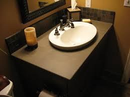 overmount bathroom sink crafts home