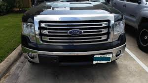 Black Truck Grills Color Vinyl For My Tuxedo Lariat Grille Ford F ...