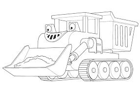 Bob Builder Printable Dump Truck Muck