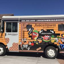 Juicetown Jailhouse - Phoenix Food Trucks - Roaming Hunger Burgers Amore Phoenix Food Trucks Roaming Hunger Truck Builders Of Of Barbeque Qup Bbq Best Dressed Dog Q Up Gourmet The News Review Az February 5 2016 Emerson Stock Photo 377076301 People 377076274 Shutterstock Cousins Maine Lobster Start A In Like Grilled Addiction West Man Making Dreams Come True With Food Truck Designs Juicetown Jailhouse