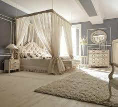 chambre romantique avec lit baldaquin pour une chambre de déco romantique moderne bedrooms