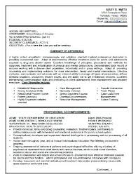 Federal Resumes Examples Government Resume Template New Sample South It Specialist