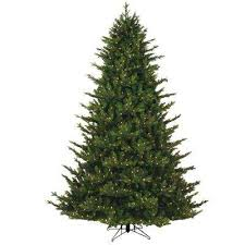 Just Cut Canadian 1 Plug Artificial Christmas Tree With Dual Color LED