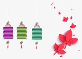Ornament Chandelier Flower Decorative Wallpaper PNG Image And Clipart
