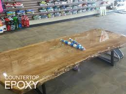 Clear Epoxy Over Wood Bench. DIY Thick, Epoxy Coating. | DIY Task ... Top Glass Epoxy Resin For Wood Table And Fnitures Buy Good Home Bar Oak Table Top With Transparent Epoxy Marina Pinterest Bar Appealing Floating 29 About Remodel Interior Menards Coating Ideas Lawrahetcom Interior Crystal Clear Tabletop Polish Counter Youtube Tutorial Suppliers And