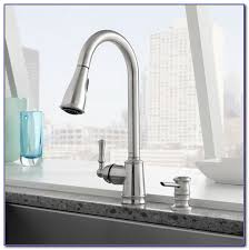 Menards Brushed Nickel Kitchen Faucets by Kitchen Sink Faucets Menards Kitchen Set Home Design Ideas