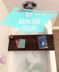 diy bathtub caddy with reading rack bathtub caddy foter