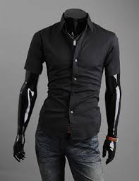 men u0027s luxury stylish casual button down short sleeve slim fit