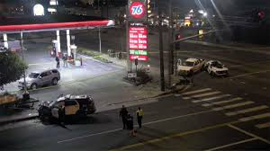 100 How Much For A Uhaul Truck LPD SUV Crashes At End Of Stolen UHaul Pursuit In Van Nuys NBC